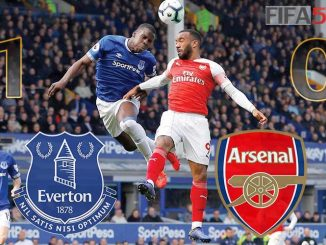 arsenal lose everton